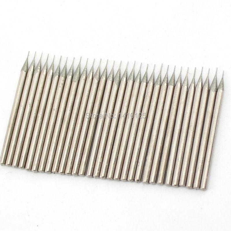 30 tk läbimõõt - 0,4 mm - galvaniseeritud teemantkattega augu sae - Puur - Foto 4