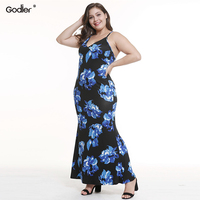 Godier Office Lady Long Dress Women Summer Beach Sexy Elegant Casual Ukraine Vintage Linen Boho Party Backless Dresses Plus Size