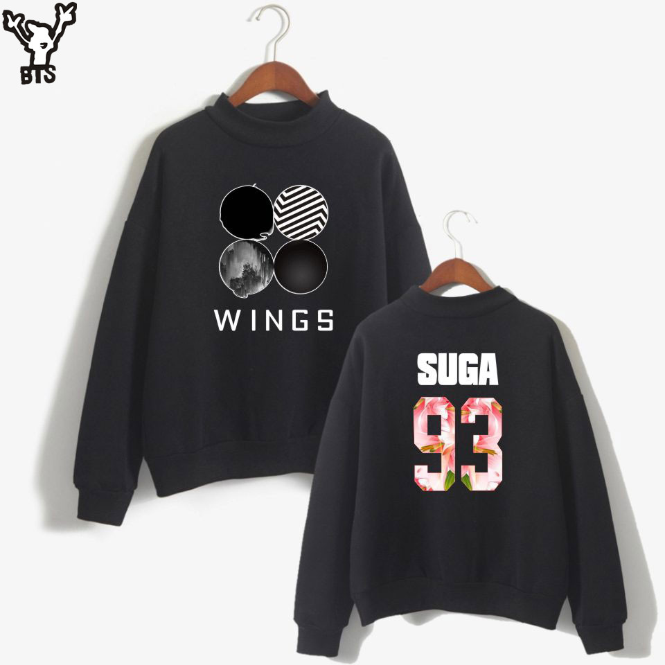 BTS Bangtan Boys Women Hoodies Sweatshirts Long Sleeve Fashion Sweatshirt Women Oversize Sweatshirt Pink Casual Kpop Hoodies