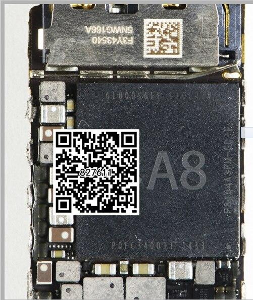 Original novo para o iphone 6 a8 cpu + emmc ram conjunto completo