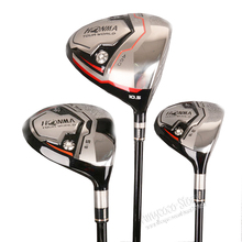 Cooyute New mens Golf Clubs HONMA TW717V 460 Golf wood Set driver+3/5Fairway Woods Graphite Golf shaft headcover Free shipping