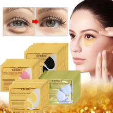 EFERO 16Pcs=8Pair Eye Patches For Crystal Collagen Masks for the Face Moisturizing Anti Wrinkle Care Anti-Aging