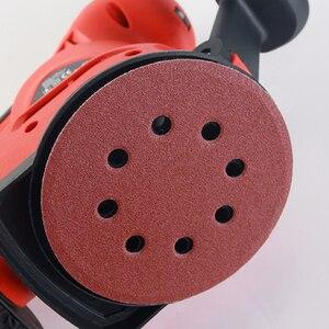 Image 4 - SWDPORT 10 adet 5 inç 125mm yuvarlak zımpara sekiz delikli Disk kum levhalar Grit 40 2000 cırt cırt zımpara disk lehçe aşındırıcı