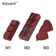 Chocolate USB Flash Drive Silicone Pendrive 64GB 32GB 16GB 8GB 4GB Pen Drive Flash Drive