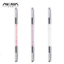 ANGNYA 10 Pcs/ Lot Double End Disposable Microblading Permanent Eyebrow Manual Tattoo Machine Pen