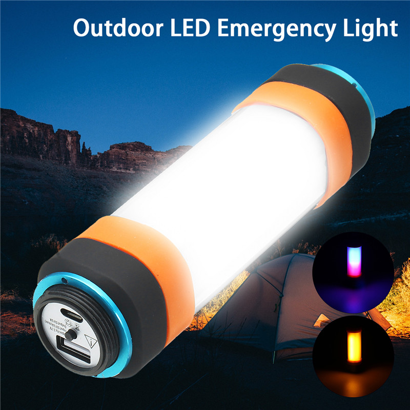 Smuxi T15 Outdoor Rechargeable Lamp LED Flashlight Outdoor Work Lights Magnet HOOK with Mobile Power Charger