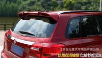 Fit for SUZUKI Vitara 2015 2016 ABS rear spoiler rear wing with customize DIY color spoiler No paint spoiler