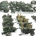 (96 UNIDS) juguetes Nostálgicos Segunda Guerra Mundial soldado militar kit de juguetes Figuras de Acción militar Army Men sistema del juego