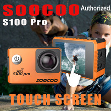 Action Camera Ultra HD 4K Touch Screen WiFi GPS gyrometer Image Stabilization Go Waterproof Sport DV SOOCOO S100 Pro Camera