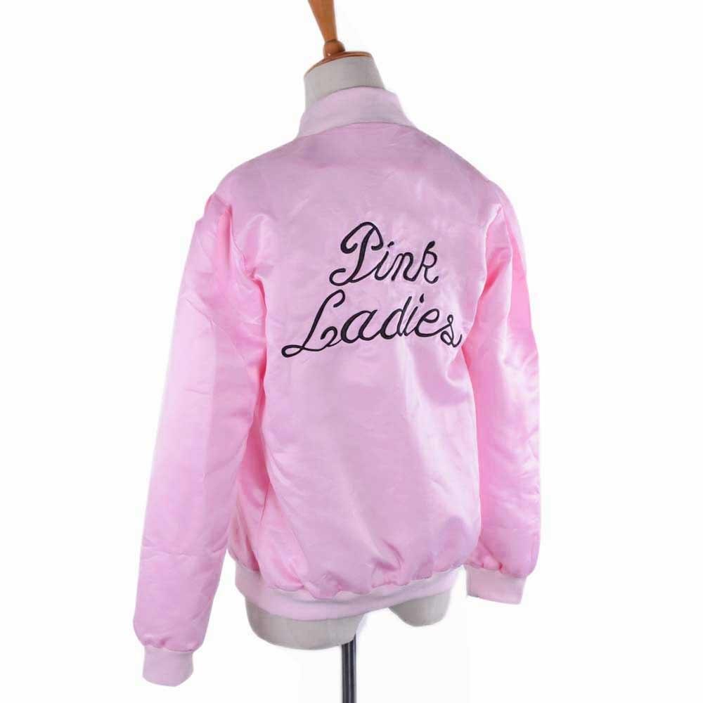 Pink Ladies Chaqueta Bordada 1950 s Fiesta de Disfraces Vestido de ...