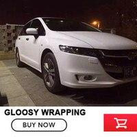 OPLARE White Self Adhesive High Gloss Vinyl Wrap Car Vinyl Wrap Decal Sticker For Car Change