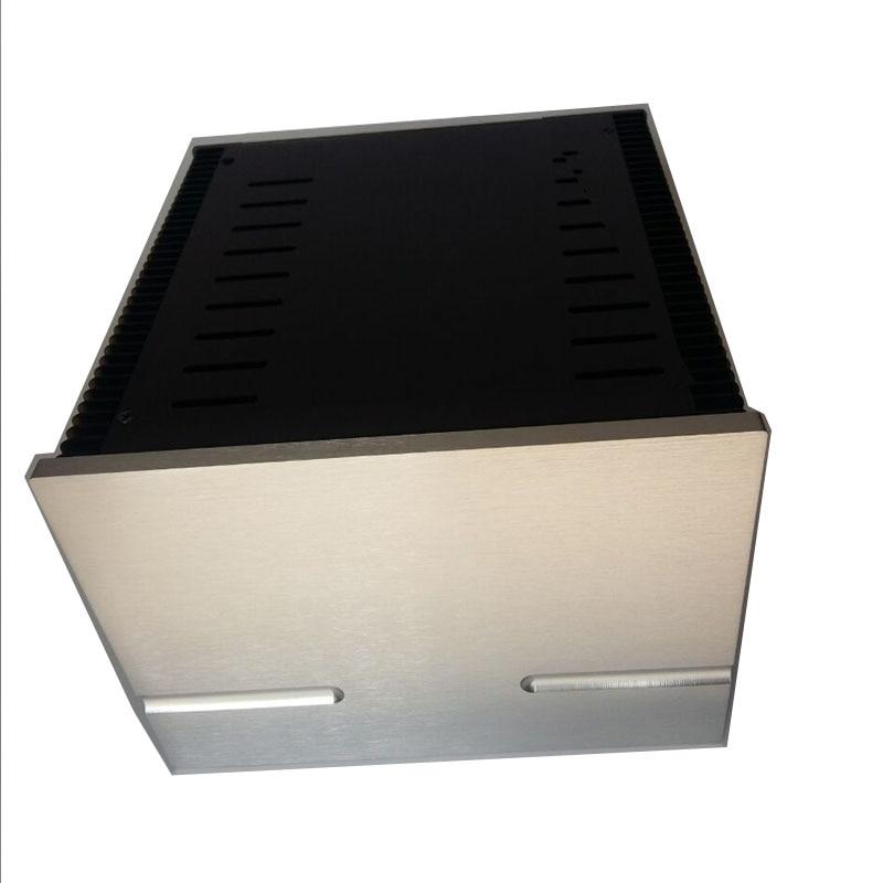 Full aluminum Power amplifier CASE/Class A desktop amplifier box/Amplifier chassis 2518 цены