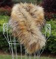 Autumn amd winter women's Fox fur scarf muffler scarf  false collar thermal thicken warm faux fur muffler scarf