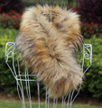 Outono amd raposa cachecol de inverno cachecol cachecol colar falso cachecol cachecol de pele falso térmica engrosse quente