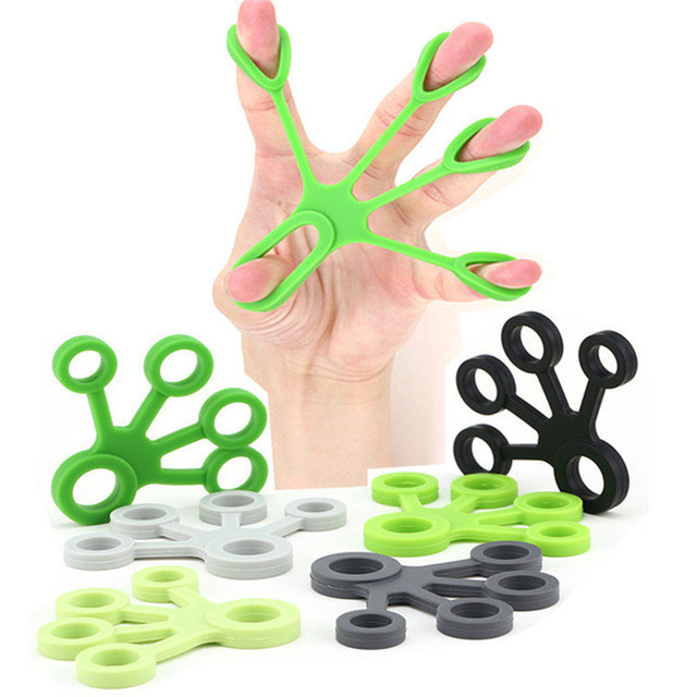 Brand Finger Resistance Bands Hand Gripper Men Elastic Rubber Exercise Training Band Women Elastic Finger Frip For Fitness