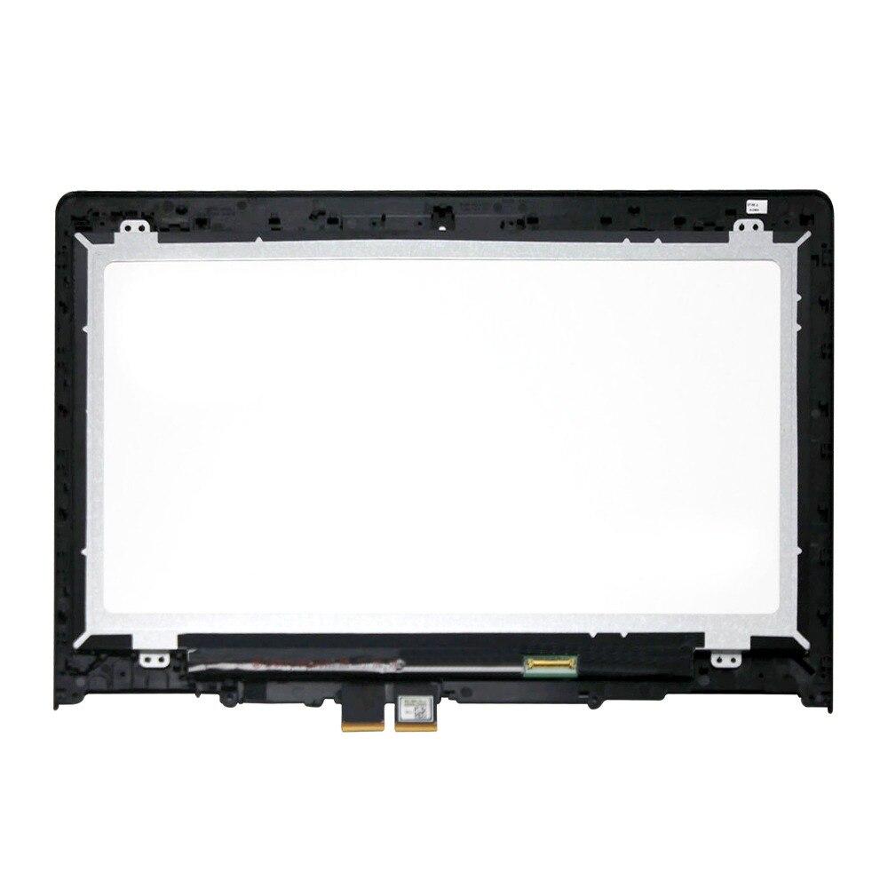 Écran tactile LCD Assemblée + Digitizer + Lunette Pour Lenovo Yoga 500-14IBD 80N4 1080 p