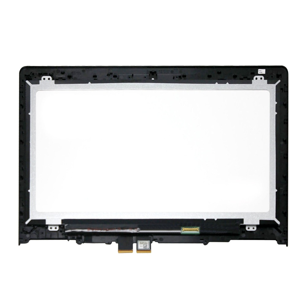 Touch LCD Assembly Screen +Digitizer+ Bezel For Lenovo Yoga 500-14IBD 80N4 1080p with bezel laptop touch lcd screen digitizer assembly display for lenovo yoga 700 14