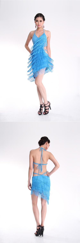 Tassels Women Dress Performance 4