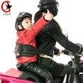 Refletir As Crianças das Crianças Motocicleta de Volta segurar Correia Transportadora Harness Cinto de Segurança Ajustável Equitação Veículo Elétrico Seguro M0140010