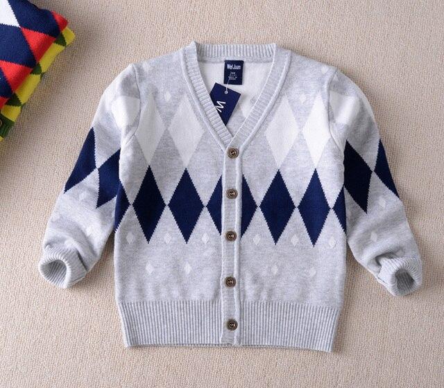 2-6 Лет бренд осень зима дети свитера трикотаж мальчики свитер дети свитера детская одежда
