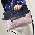 2016 Fashion CrossBody Shoulder Bag Ladies Retro Snake Messenger Bag Envelope Bag Day Clutches Purse  Fashion Evening Bag