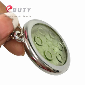 Image 1 - 6000CC High Ion Bio Chi Quantum Pendant Scalar Energy with Stainless Steel Necklace Chain Best Quality 2pcs/lot