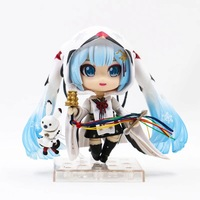 Nendoroid Snow Miku Crane Priestess Version Rare 2019 Hatsune Miku PVC Action Figure Collectible Model Toy juguetes doll hot