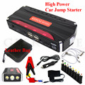 High Power 12000mAh 12V Car Jump Starter 600A Peak Car Battery Booster Charger 4USB Phone Laptop Power Bank SOS Lights Free Ship