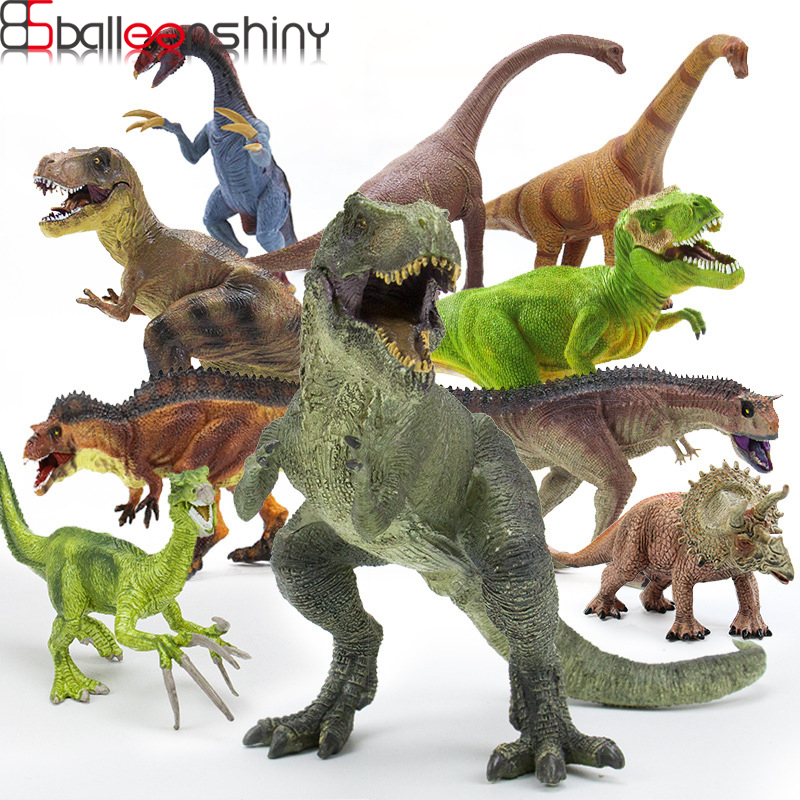 BalleenShiny Jurassic Wild Dinosaur Toy Baby Boys Dinosaur Play Toys World Park Dinosaur Model Action Action Figures Kids Gifts wiben jurassic carcharodontosaurus toy dinosaur action
