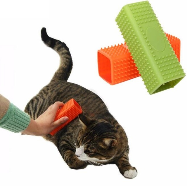 Petalk Gel Pet Hair Remover Dog Cat Grooming Tools Shedding Hair Remover Brush Pet  Cleaning for Puppy Kitten