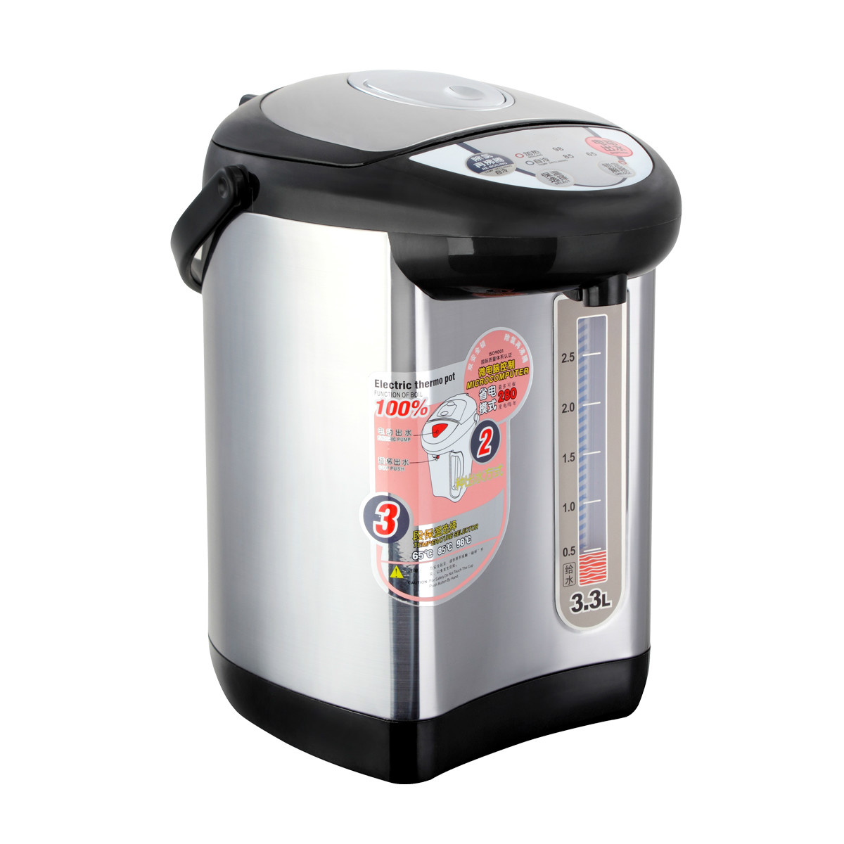 Electric kettle Thermoelectric stainless steel boiling water kettles automatic insulation large  bottles Overheat Protection electric kettle thermos water bottle is an integral automatic insulation kettle 304 stainless steel kettles home