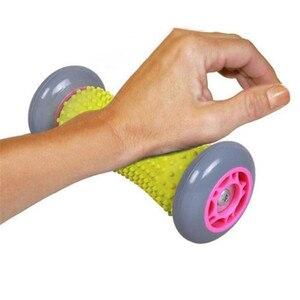 Image 3 - Piede a Mano Rullo di Massaggio Punto di Trigger Profondo Del Tessuto di Terapia Fisica per Fascite Plantare Del Tallone Arco Del Piede Sollievo Dal Dolore per La Cura Del Piede