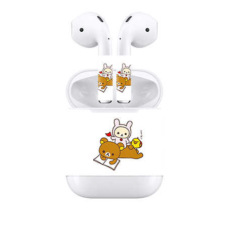 Free Drop Shipping Customizable For Apple Airpods Skin Stickers Custom Made Personalized Decal