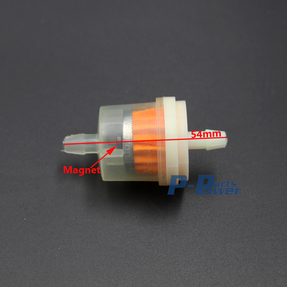 10x Inline gas fuel filter hose lines engine for universal Honda ATV motorcycle