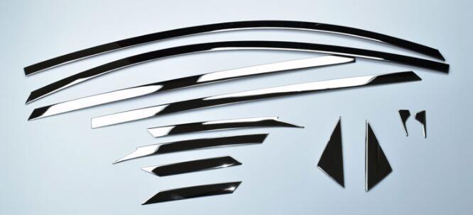FIT FOR 2014 2017 For Hyundai ix25 (creta) Matte Inner Side Door Handle Bowl Cover 4 pcs /set