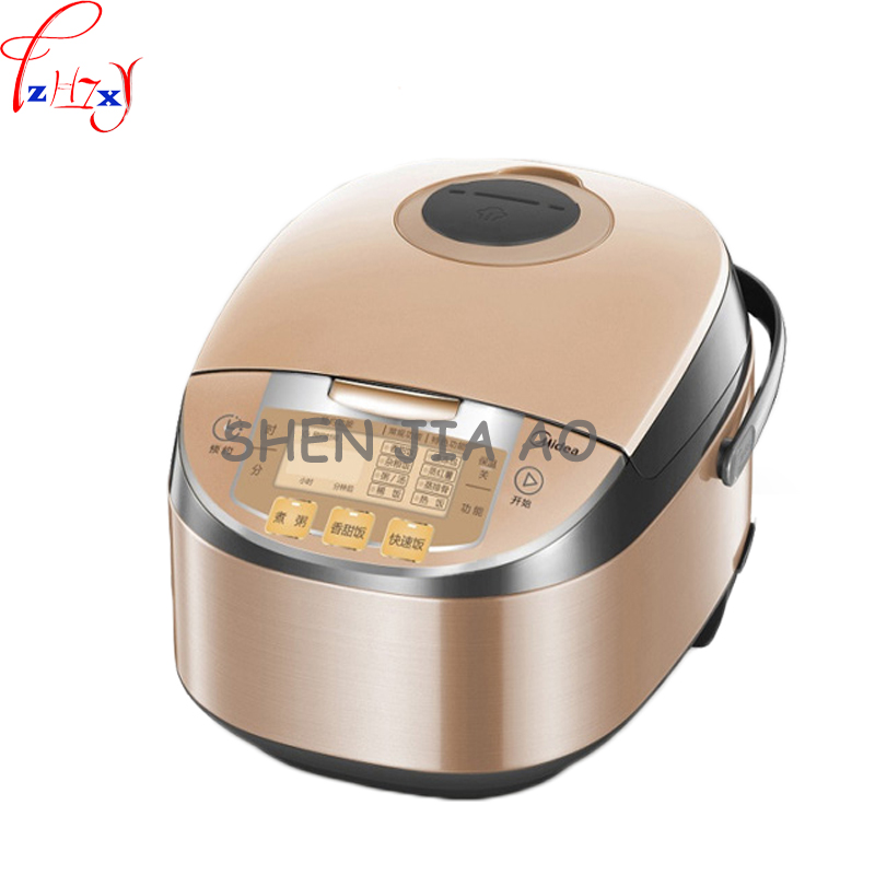 5L home smart rice cooker booking honeycomb liner for microcomputer type rice cooker kitchen utensils 770W 220V 1PC smart electric rice cooker 3l alloy ih heating pressure cooker home appliances for kitchen smartphone app wifi control