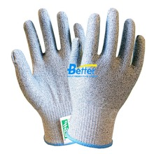 Cut-resistant HPPE Labor Glove Aramid Fiber Butcher Safety Glove HPPE Anti Cut Work Glove