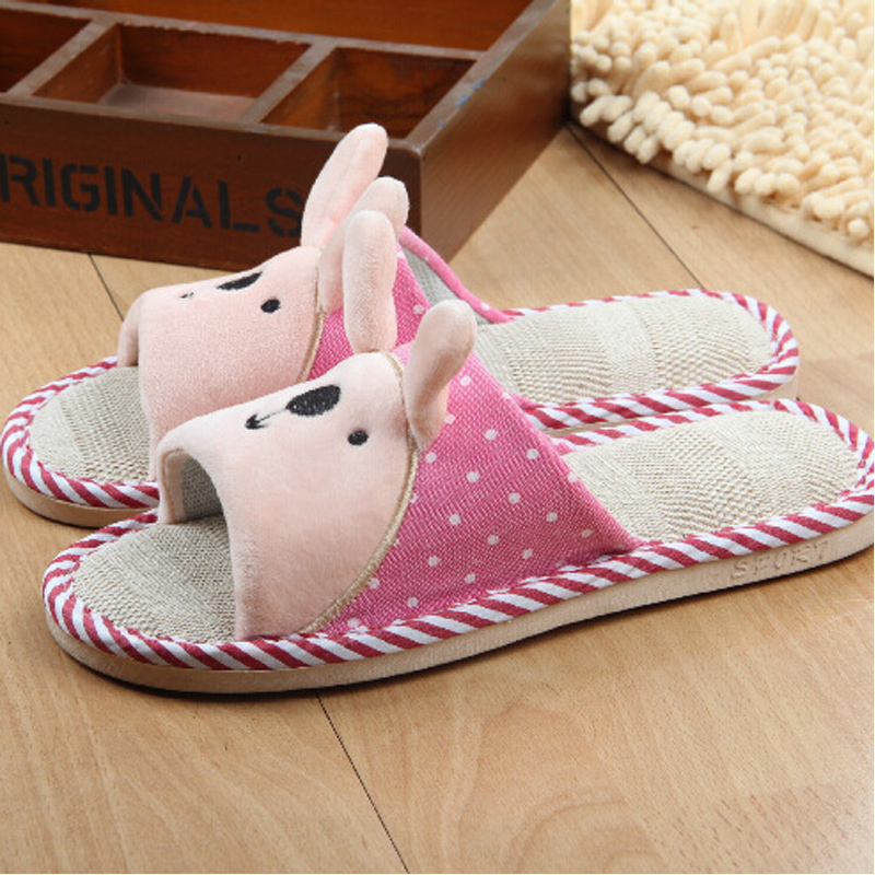 Warm Home Slippers Women Bedroom Winter Slippers Men Women Cartoon Japanese  Indoor Slippers Comfortable Cotton Floor Home Shoes in Slippers from Shoes  on. Warm Home Slippers Women Bedroom Winter Slippers Men Women Cartoon
