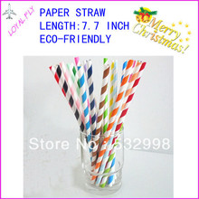 straws birthday straws color