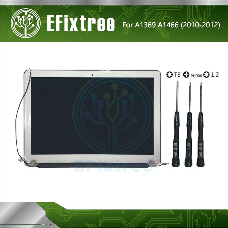 "Grade A New A1369 LCD For Macbook Air 13"" A1466 LCD Screen Assembly Display 2010 2011 2012 MC503 MC965 MD231 EMC 2392 EMC 2469(China)"