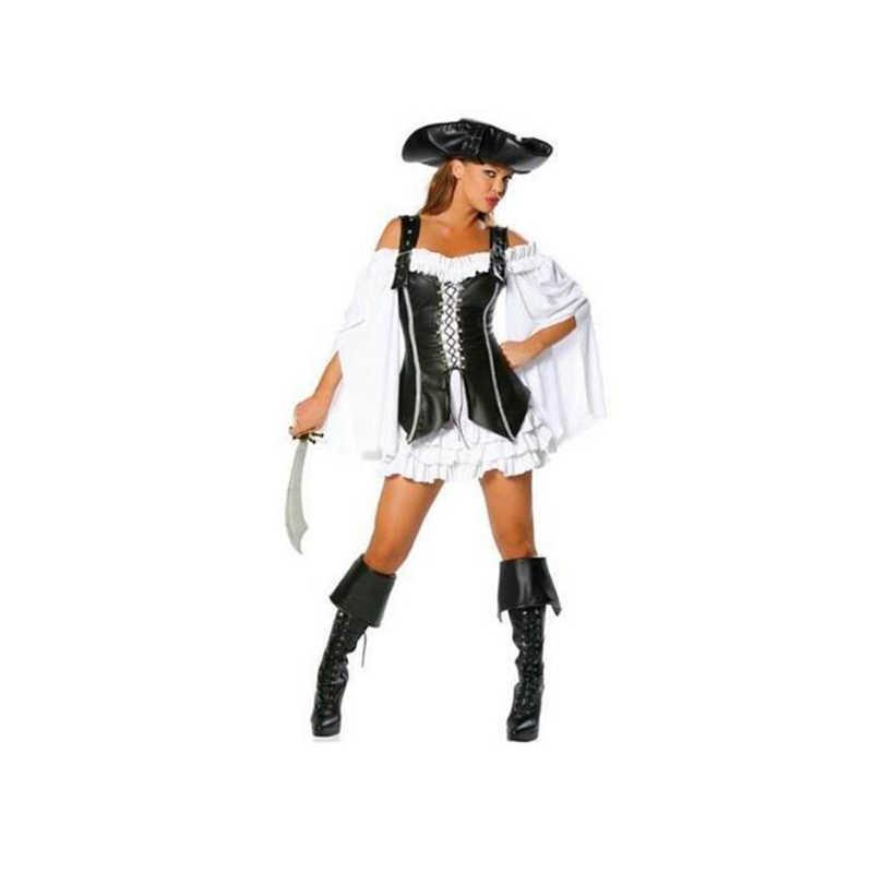2019 горячий новый пиратский костюм сексуальный для взрослых на Хэллоуин
