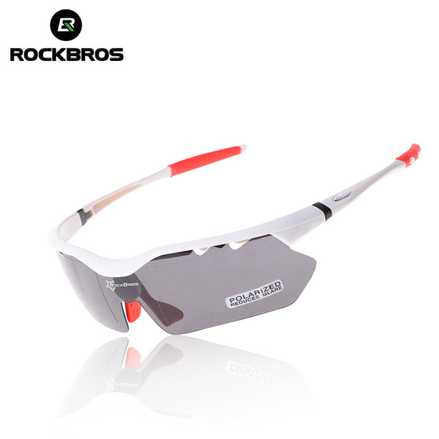 ROCKBROS Polarized MTB Road Bike Bicycle Cycling Running Riding Glasses Sports Glasses Sunglasses Goggles Oculos TR90 22g