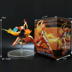 Comic Anime Naruto Shippuden Uzumaki Naruto Rikudo Battle Sennin Ootutuki Hagoromo Six Immortals 18cm Figure Figurine Toys(China)