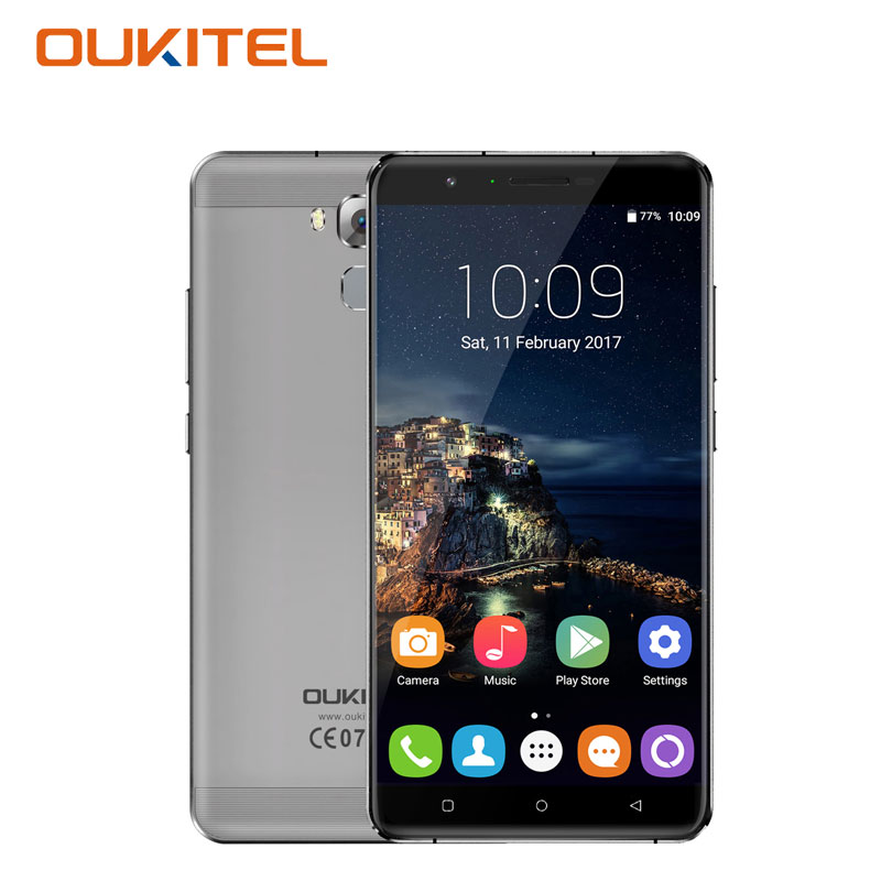 OUKITEL U16 Max Smartphone 6 0 Inch 3GB RAM 32GB ROM Fingerprint Android 7 0 Octa
