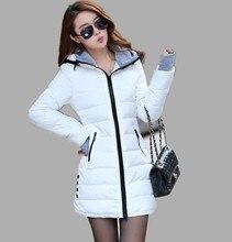 Xs-xxl парки ватные зимние куртки хлопка дамы куртка женская женские тонкий