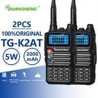 2 шт. Quansheng TG K2AT (UV) двухканальные рации UHF VHF Двухзонный модуль подключения к хосту радио любительский удобный КВ трансивер двухстороннее CB