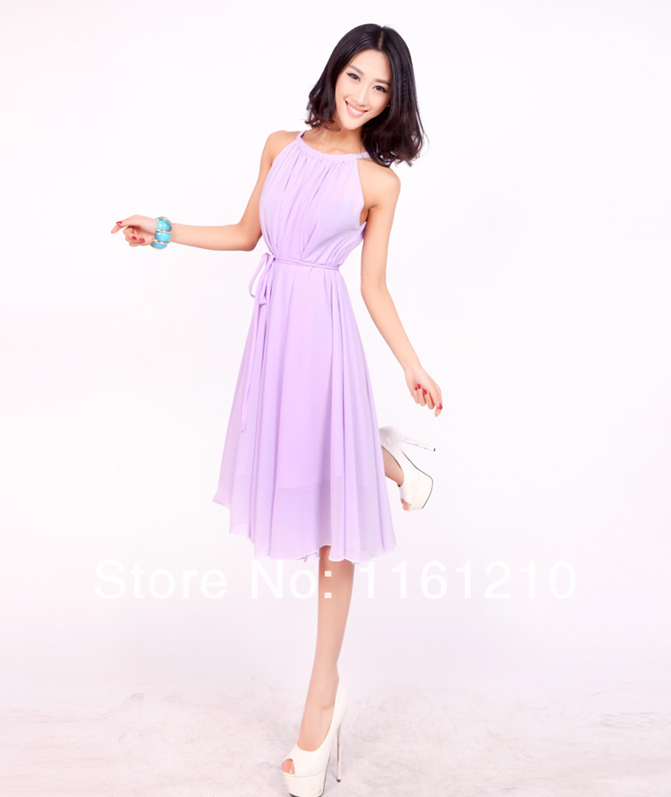 df5eca59057 Lavender Short Wedding Sundress Summer Beach Bridesmaid Maxi dresses Holiday  Maxi Dress Plus Size Formal Maternity-in Dresses from Women s Clothing on  ...