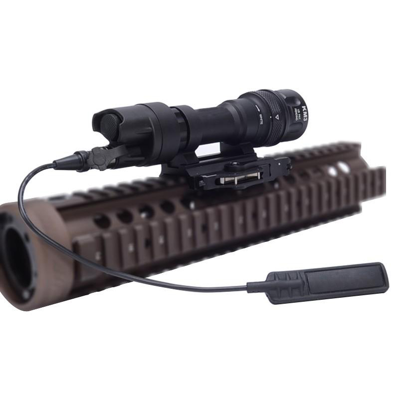 Element SF M952V LED Flashlight For Rifle Lights m952v Gun Tactical Flashlight element airsoft hunting military led weapon light flashlight pocket for rifle m952v gun tactical black 180 lumens ex 192