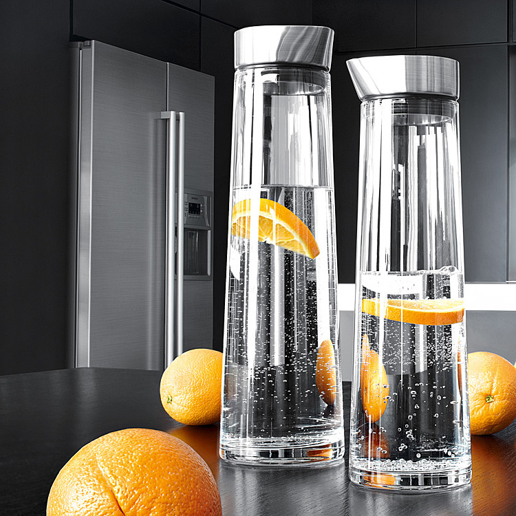 High-capacity heat-resistant high-temperature explosion-proof thickening glass kettle home refrigerator cooler boiled bottle