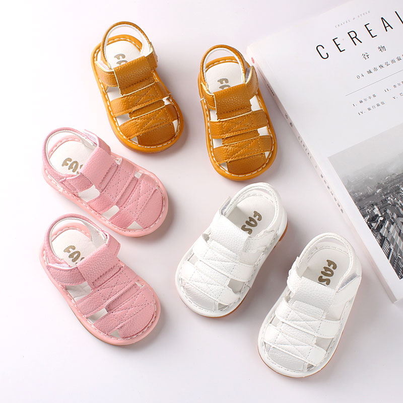 0~36 Months Baby Sandals Cow Muscle Sole And Soft Pu Leather Summer Shoes For Baby Girls And Boys Ourwear Shoes